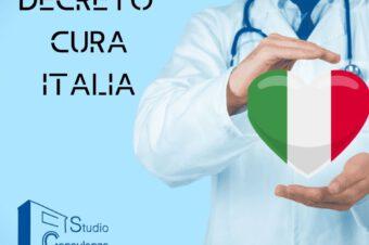 Sintesi Decreto Cura Italia -Coronavirus-
