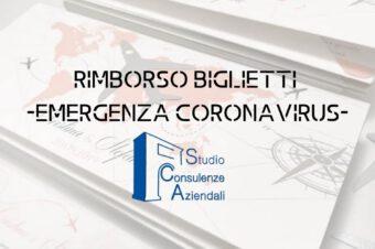 Rimborso Biglietti Viaggio – Coronavirus –